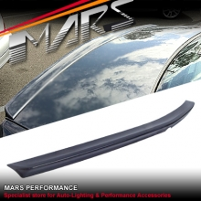 AMG E63 Style Rear ABS Trunk Lip (Unpainted) Spoiler for Mercedes-Benz E-Class W212 Sedan