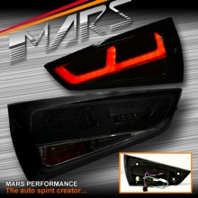 Full Smoked upgrade 3D LED Stripe Bar Tail Lights for AUDI A1 8X 2010-2014 Hatch