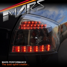 Smoked Black LED Tail Lights for AUDI A4 S4 RS4 B6 01-05 Sedan