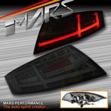 Full Smoked Full LED 3D Stripe Bar Tail lights with Dynamic Indicator for AUDI TT 8J 06-14