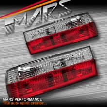 Clear Red Tail Lights for BMW 3 Series E30 83-87