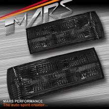 Smoked Black Tail Lights for BMW 3 Series E30 83-87 Pre-LCI
