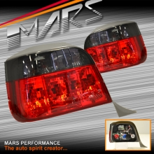 Smoked Red Tail Lights for BMW 3-Series E36 Wagon Touring