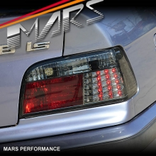 Smoked Black LED Tail lights for BMW 3-Series E36 2 Doors Coupe