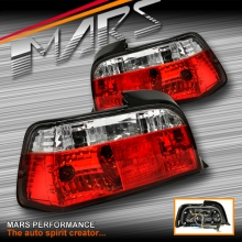 Clear Red Tail lights for BMW 3-Series E36 2 Doors Coupe SN