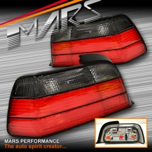 Smoked Red M3 Style Tail Lights for BMW E36 2 Doors Coupe & Convertible