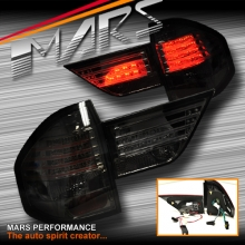 Smoked Black Led Tail lights with Garnish for BMW E83 X3 04-10