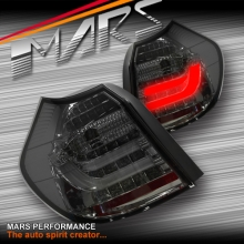 Smoked Black 3D LED Tail lights for BMW 1 Series E81 E87 Hatch