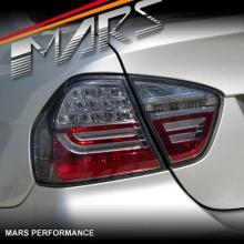 Smoked Black M3 Style LED Tail Lights for BMW 3-Series E90 Sedan 05-08 KS