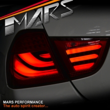Full Red 3d Stripe Bar Led Tail Lights For Bmw 3 Series