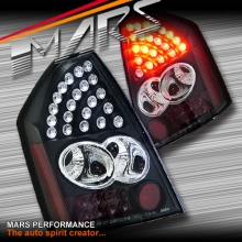 Black LED Tail Lights for CHRYSLER 300C Sedan Series 1 05-08