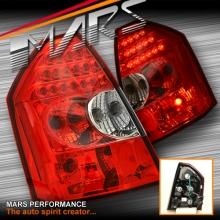 Clear Red LED Tail Lights for CHRYSLER 300C Sedan Series 1 05-08