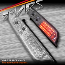 Crystal Clear LED Tail Lights for Ford Focus LS LT 05-08 Hatch