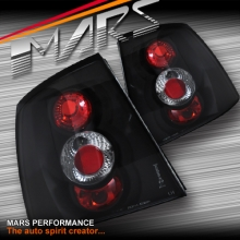 Black Altezza Tail Lights for Holden Astra 98-04 G 3D 5D Hatch