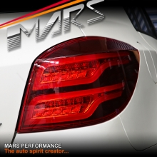 Full Red 3D Stripe & Full LED Tail Lights for Holden Cruze Hatch 11-16
