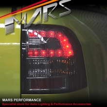 Smoked LED Tail lights for Holden Commodore VF UTE Pick Up