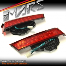 Clear Red LED Boot Trunk Tail Lights for Honda Accord 8th Gen Sedan 08-13