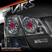 Smoked LED Tail Lights for Honda Civic FD Sedan 06-12