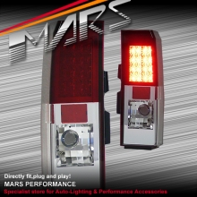 Clear Red LED Tail Lights for HUMMER H3