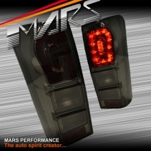 Smoked Black LED Tail lights for Isuzu D-Max UTE 12-16
