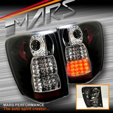 Black LED Tail Lights for JEEP Grand Cherokee WJ 99-04