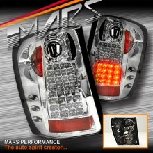 Crystal Clear LED Tail Lights for JEEP Grand Cherokee WJ 99-04