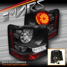 Black LED Tail lights for Land Rover Range Rover Sport L320 05-09