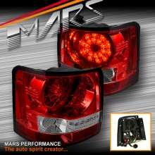 Clear Red LED Tail lights for Land Rover Range Rover Sport L320 05-09