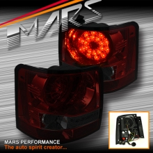 Smoked Red LED Tail lights for Land Rover Range Rover Sport L320 05-09