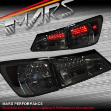 Smoked Black LED Tail Lights for Lexus ISF & IS250 & IS350