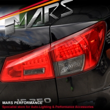 Smoked RED LED Tail Lights for Lexus ISF & IS250 & IS350 05-08 GSE20R