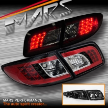 JDM Black LED Tail Lights for Mazda 6 Sedan & Hatch 02-07