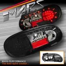 JDM Black LED Tail Lights for MAZDA MX-5 NB 98-05