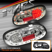 Crystal Clear LED Tail Lights for MAZDA MX-5 NB 98-05
