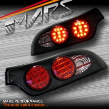 JDM Black LED Altezza Tail Lights for MAZDA RX-7 97-02