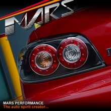 FE 2 Style Black LED Tail Lights for MAZDA RX-8 FE Series 1 04-08