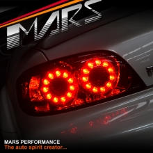 FE 2 Style Smoked LED Tail Lights for MAZDA RX-8 FE Series 1 04-08