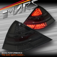 Full Smoked LED Tail Lights for Mercedes-Benz SLK-CLASS R170 97-03