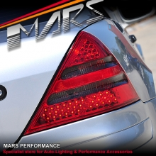 Smoked Red LED Tail Lights for Mercedes-Benz SLK-CLASS R170 97-03