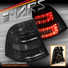 Full Smoked LED Tail Lights for Mercedes-Benz ML-Class W163 97-05