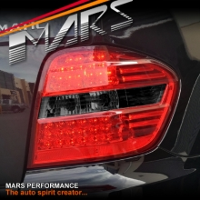Smoked Red LED Tail Lights for Mercedes-Benz ML-Class W164