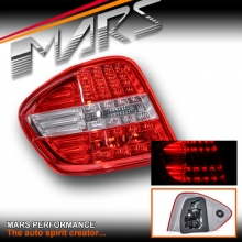 Passenger / Left Hand Side LED Tail lights for Mercedes-Benz ML-Class W164 09-11 Face-lift model