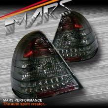 Full Smoked LED Tail Lights for Mercedes-Benz C-Class W202 94-00