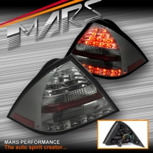 Full Smoked LED Tail Lights for Mercedes-Benz C-Class W203 4 doors Sedan 00-04