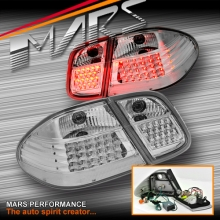Crystal Clear LED Tail Lights for Mercedes-Benz CLK W208 C208