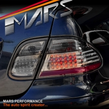 Smoked Black LED Tail Lights for Mercedes-Benz CLK W208 C208