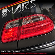 Smoked Red LED Tail Lights for Mercedes-Benz E-Class W210 4 doors Sedan