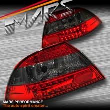 Smoked Red LED Tail lights for Mitsubishi Lancer CH 03-07 Sedan