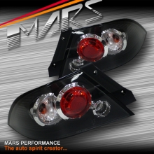 Black Altezza Tail lights for Mitsubishi Lancer CH 03-07 Sedan