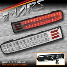 Crystal Clear Full LED Tail lights for Nissan Cube 02-08 Z11 BGZ11 BNZ11 BZ11
